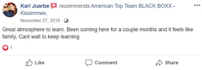 Adult1, American Top Team Black Boxx in Kissimmee, FL